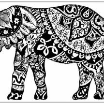 Adult-Coloring-Pages-Free-African-Elephant-www.RealisticColoringPages